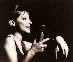 Barbra Streisand / Red chair Cabaret. Visual references
